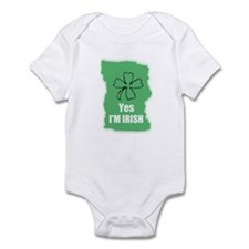 YES I'M IRISH Infant Bodysuit