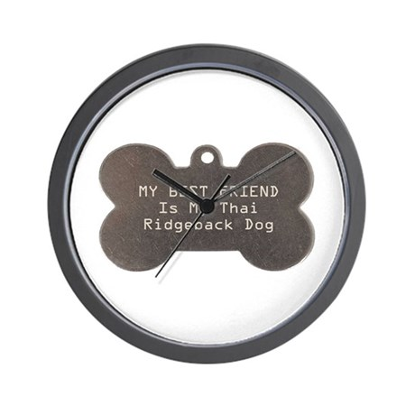 Ridgeback Friend Wall Clock