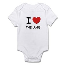 I love the luge  Infant Bodysuit