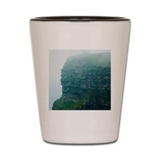 Cliffs of Moher in the Fog Shot Glass