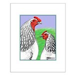 Columbian Cock and Hen Small Poster