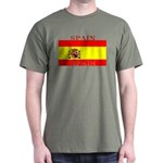 Spain Spanish Flag Dark T-Shirt