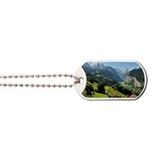 Jungfrau and Lauterbrunnen valley Dog Tags