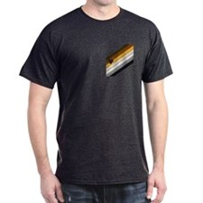 BEAR PRIDE DIAGONAL FLAG T-Shirt
