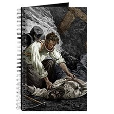 Coal mine rescue, 19th century Journal