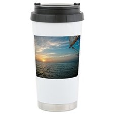 Sunrise from Sailboat i Travel Mug