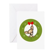 Chihuahua Christmas Greeting Cards (Pk of 10)