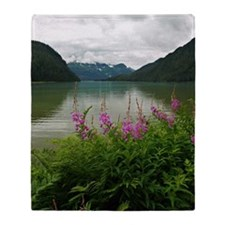 Eyak Lake Throw Blanket