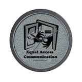 Equal Access Communication Wall Clock