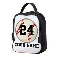 Personalized Baseball Sports Neoprene Lunch Bag