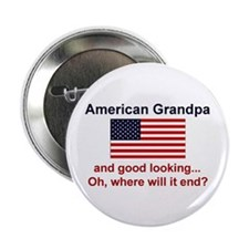 American Grandpa-Good Lkg Button