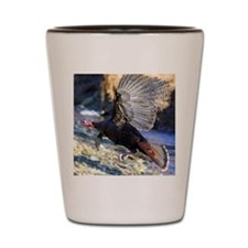 Wild Turkey in Flight Shot Glass