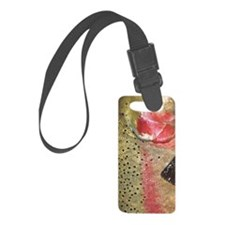 Steelhead Skin Luggage Tag