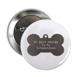 "Schapendoes Friend 2.25"" Button (10 pack)"