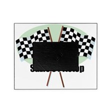 race flags crossed Picture Frame