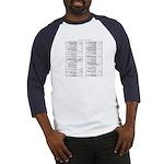 vi reference t-shirt (Baseball Jersey)