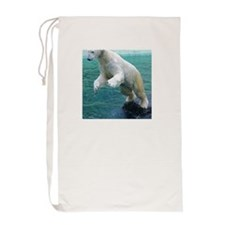 Polar bear Laundry Bag