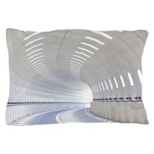 Road and tunnel Pillow Case