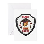 Hemet Police Greeting Cards (Pk of 10)
