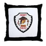 Hemet Police Throw Pillow