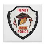 Hemet Police Tile Coaster