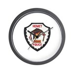 Hemet Police Wall Clock