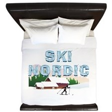 TOP Ski Nordic King Duvet
