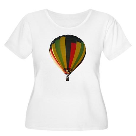 Balloon Women's Plus Size Scoop Neck T-Shirt