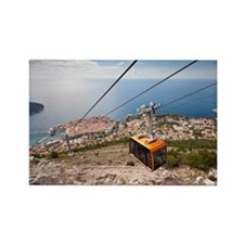 Cable car Rectangle Magnet