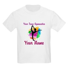 Customizable Gymnastics Team T-Shirt