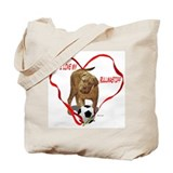Cute Bullmastiff Tote Bag