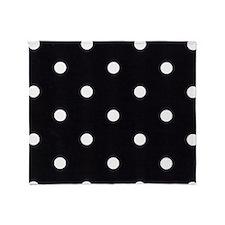 Polka Dots Throw Blanket