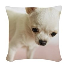 Chihuahua Woven Throw Pillow