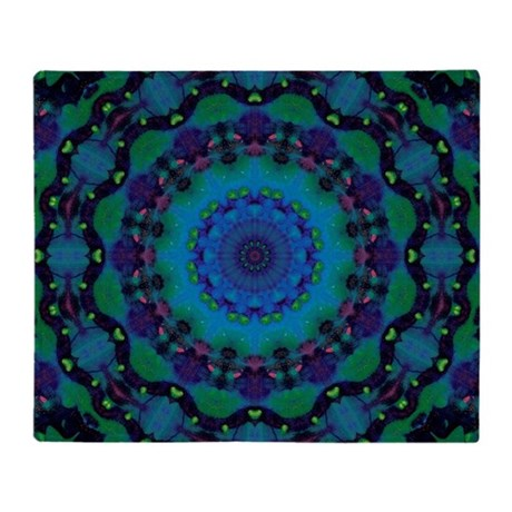 Mellow Art Mandala Throw Blanket