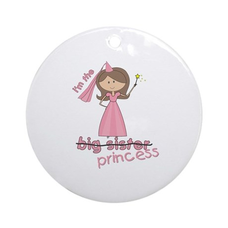 i'm the princess Ornament (Round)