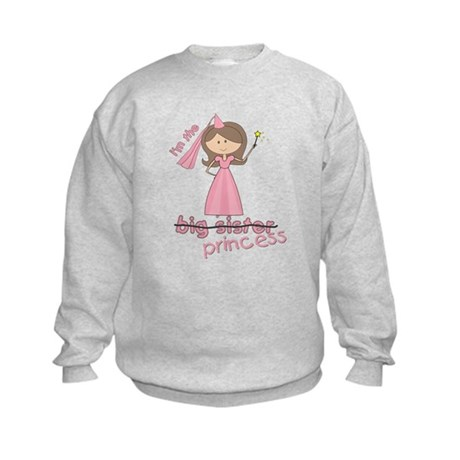 i'm the princess Kids Sweatshirt