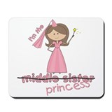 i'm the princess middle Mousepad