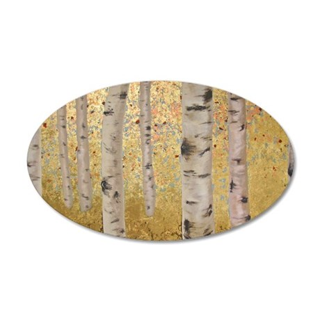 Ghosts Of Autumn 35X21 Oval Wall Decal