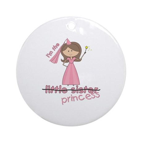 i'm the princess little Ornament (Round)