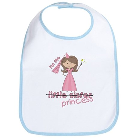 i'm the princess little Bib