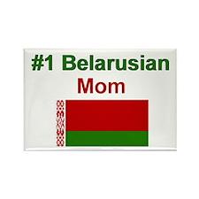 #1 Belarusian Mom Rectangle Magnet