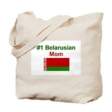 #1 Belarusian Mom Tote Bag