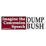 Imagine the Concession Speech (sticker)