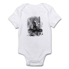 Alice through the Looking Gla Infant Bodysuit
