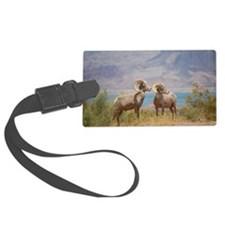 Bighorn Sheep Luggage Tag