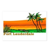 Fort Lauderdale, Florida Postcards (Package of 8)
