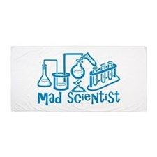 Mad Scientist Beach Towel