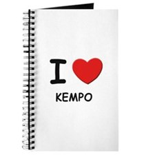 I love kempo Journal
