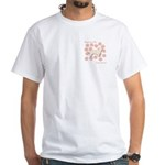 Sussex Happiness White T-Shirt
