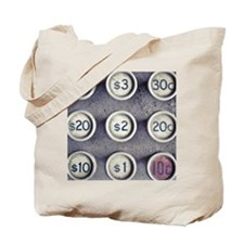 Dollar and cent sign Tote Bag